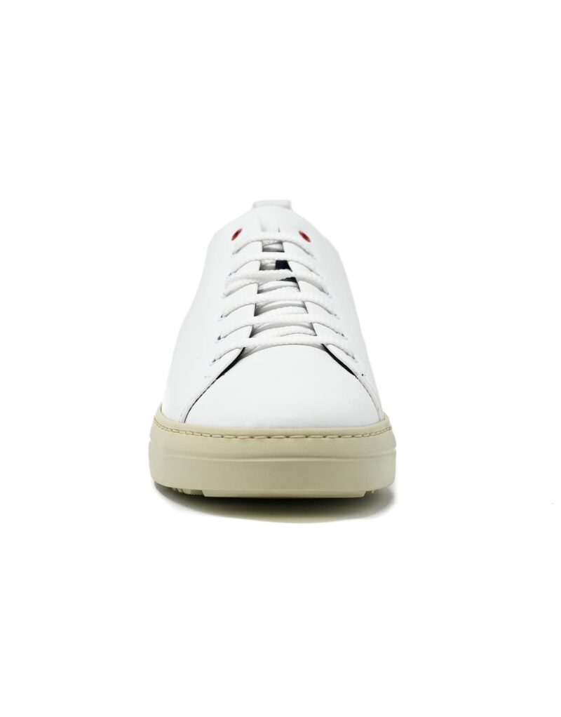 sneaker Piuma in pelle bianca-5089