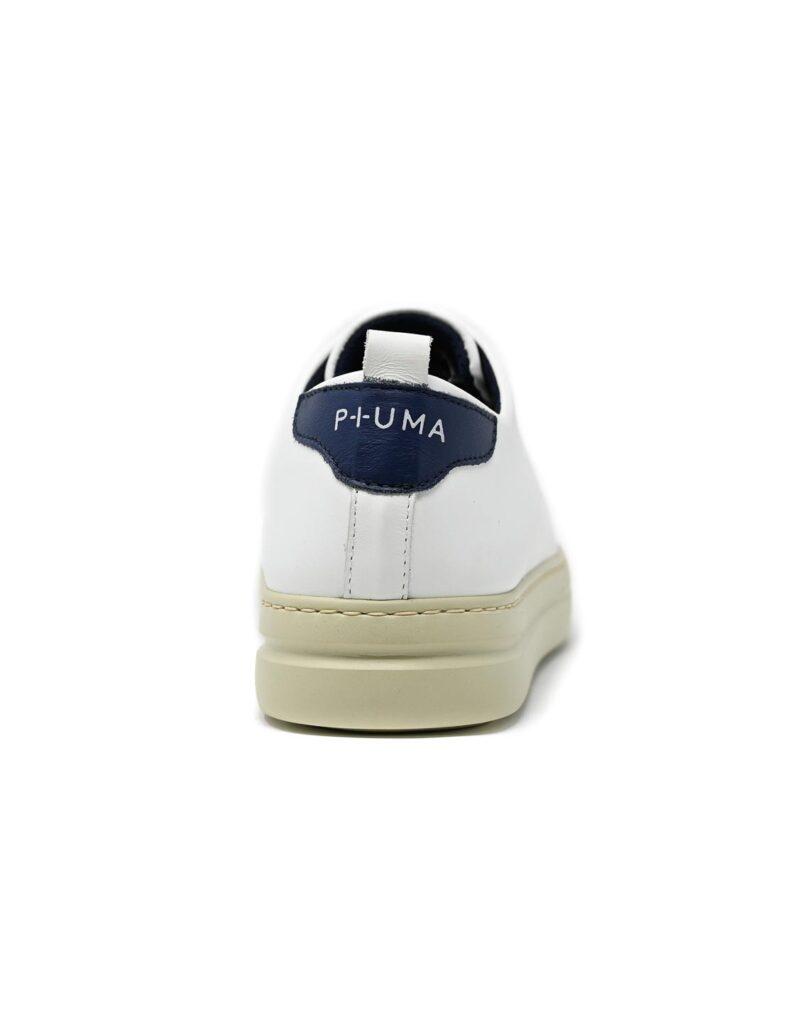 sneaker Piuma in pelle bianca-5090