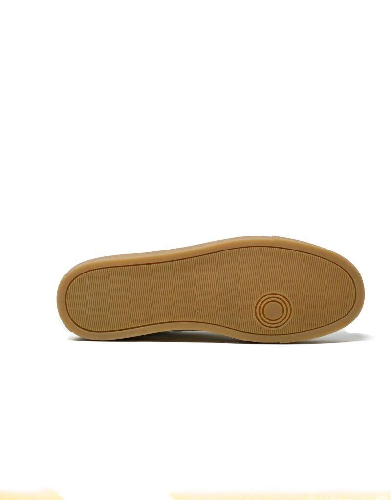sneaker Trainer in pelle bianca -5096