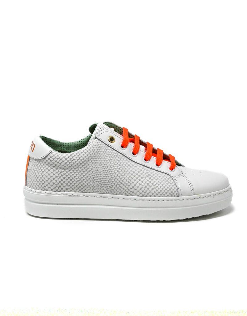 sneaker donna Ainafe arancione - Wally Walker