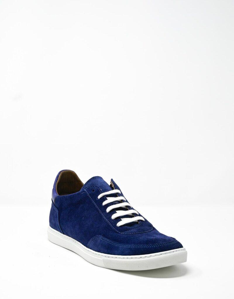 sneaker scamosciata blu-4905