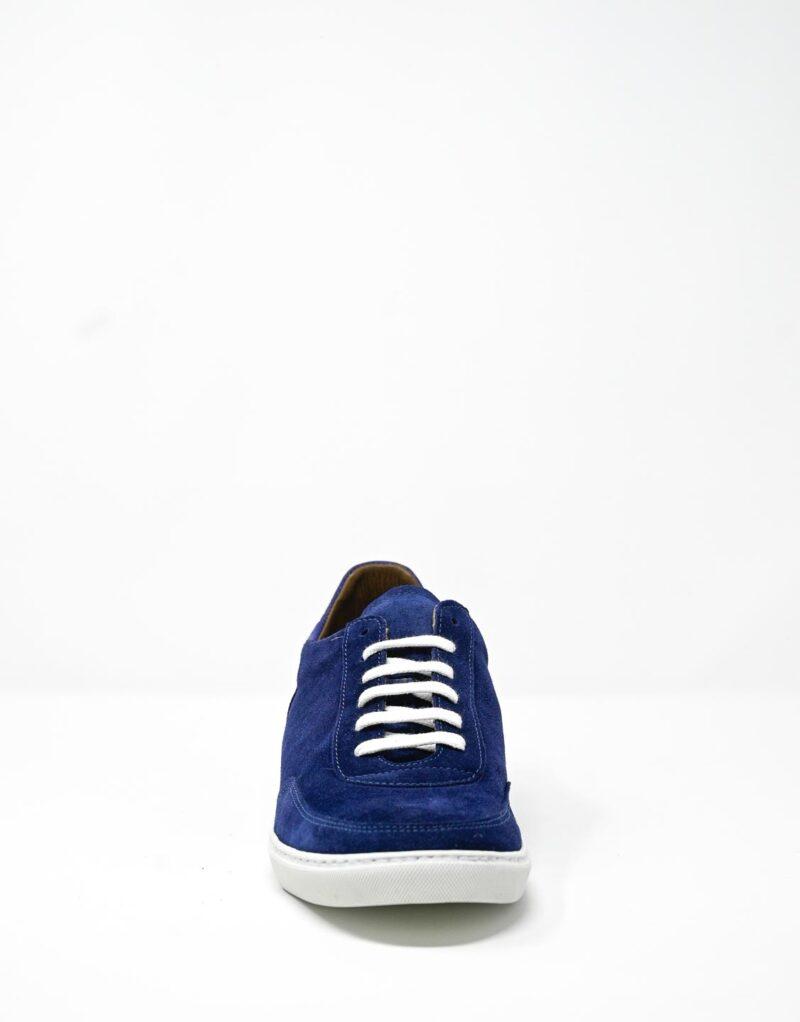 sneaker scamosciata blu-4906