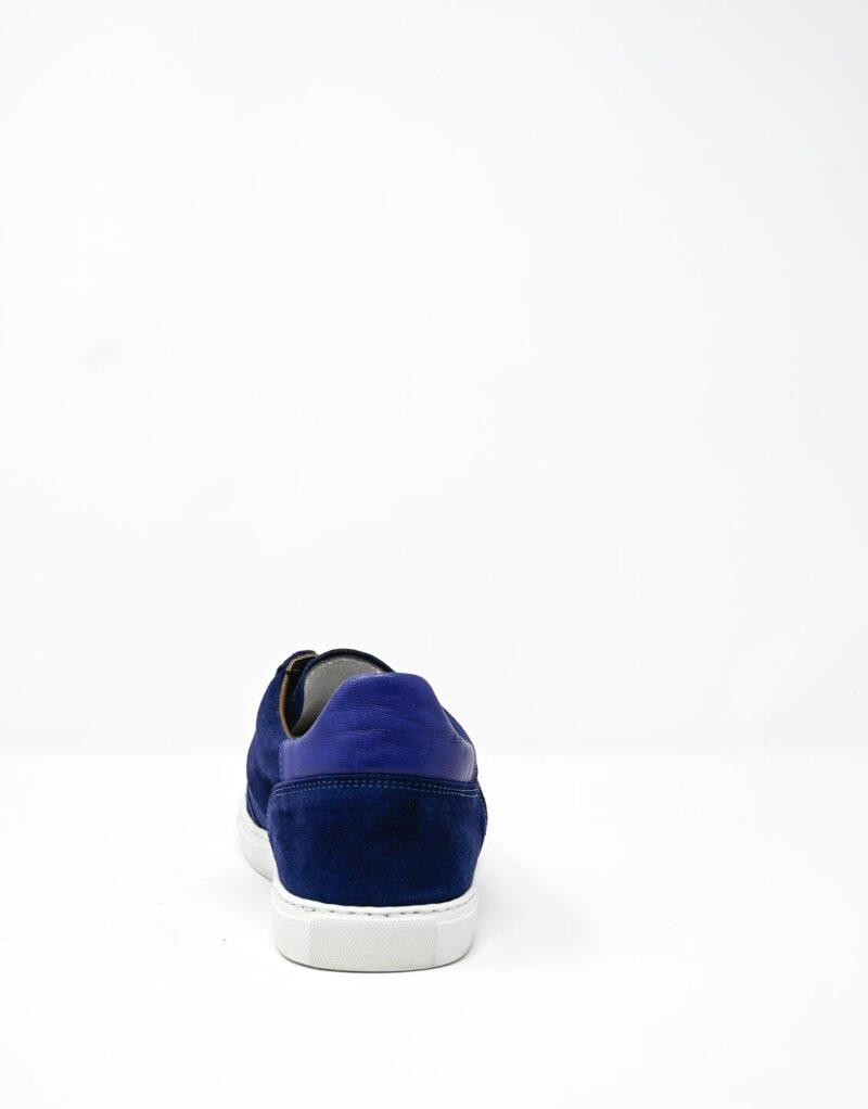 sneaker scamosciata blu-4907