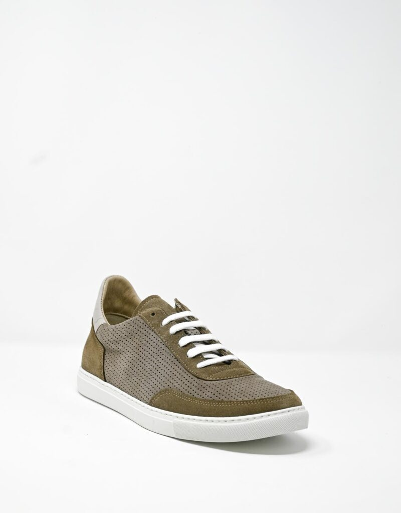 sneaker scamosciata taupe-4900