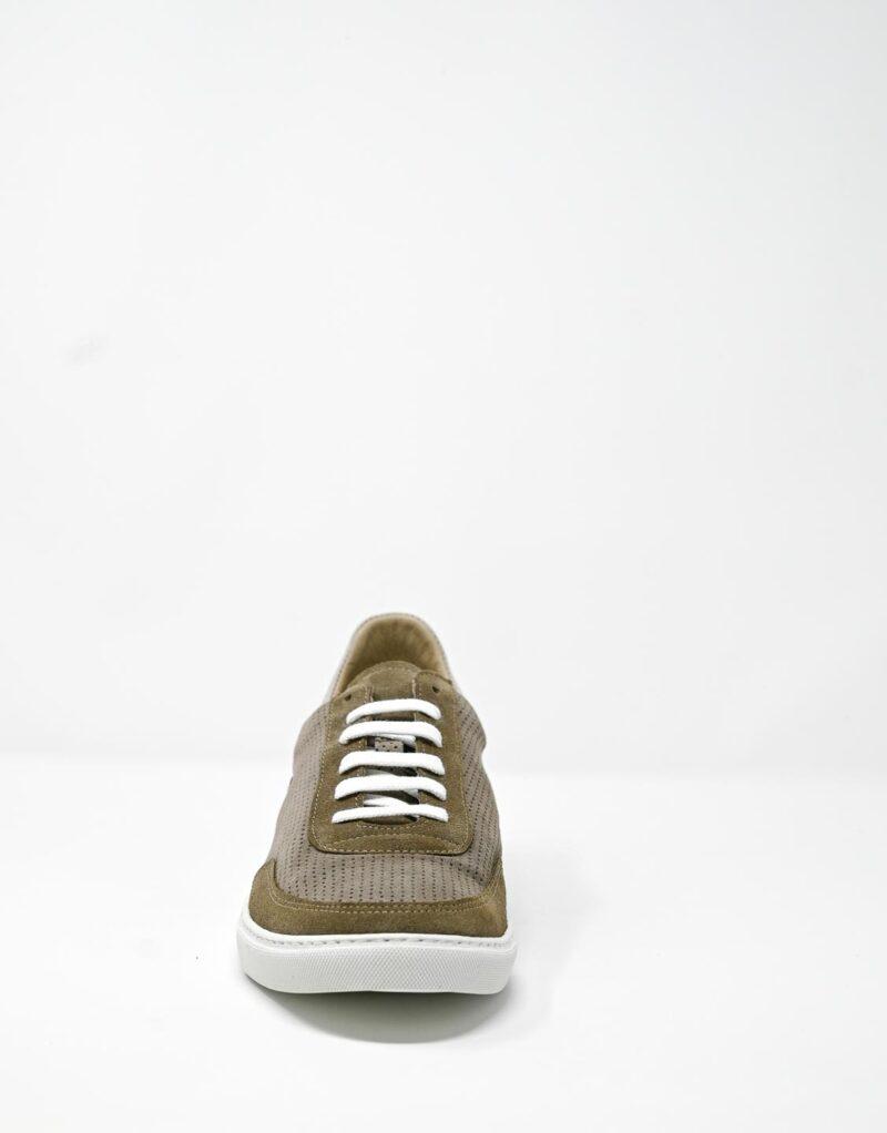 sneaker scamosciata taupe-4901