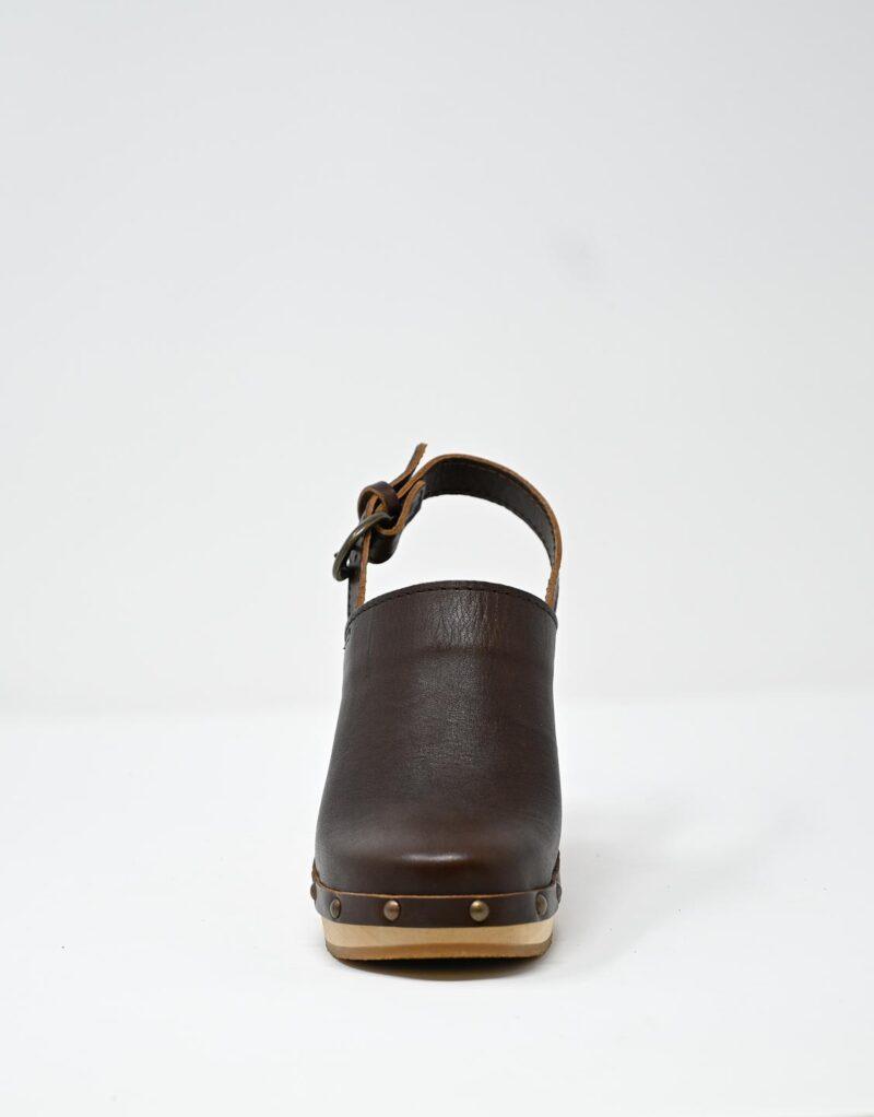 zoccolo in legno e pelle dark chestnut by astorflex-4994