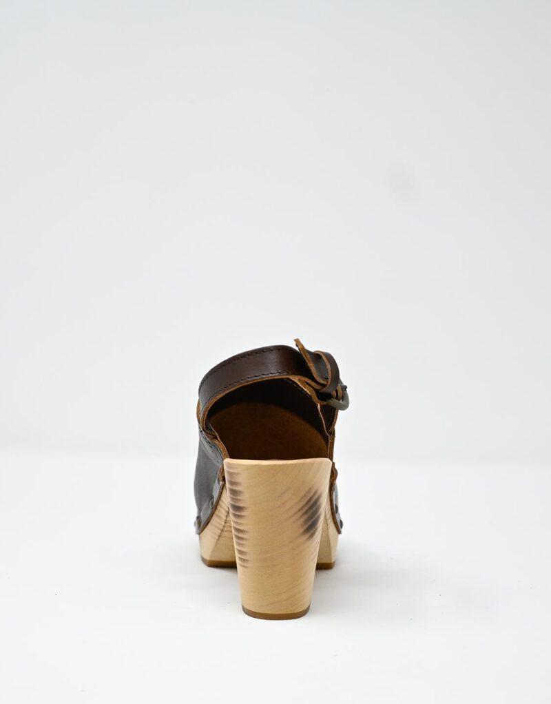 zoccolo in legno e pelle dark chestnut by astorflex-4995