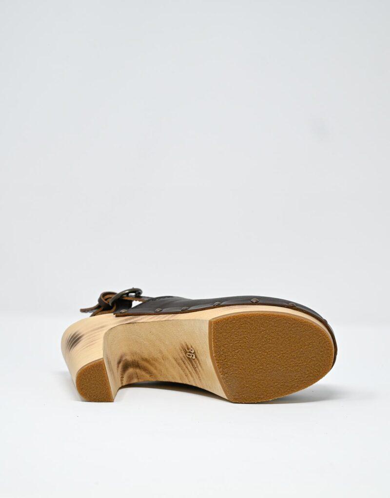 zoccolo in legno e pelle dark chestnut by astorflex-4996