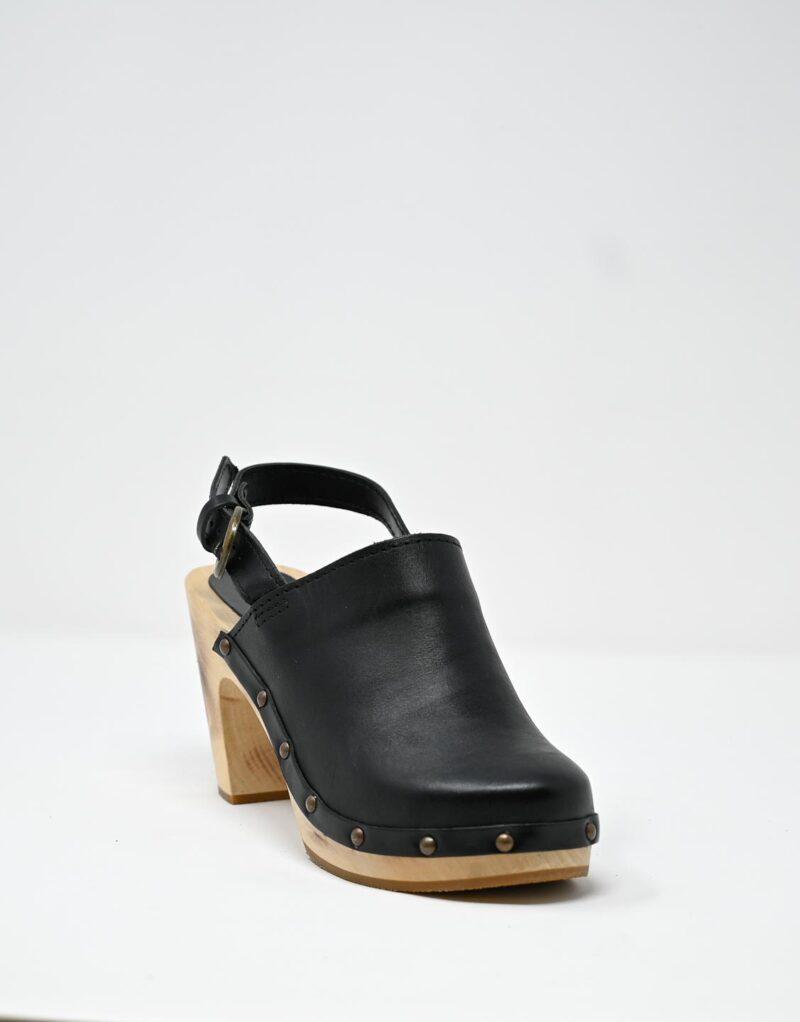 zoccolo in legno e pelle nero by astorflex-4987