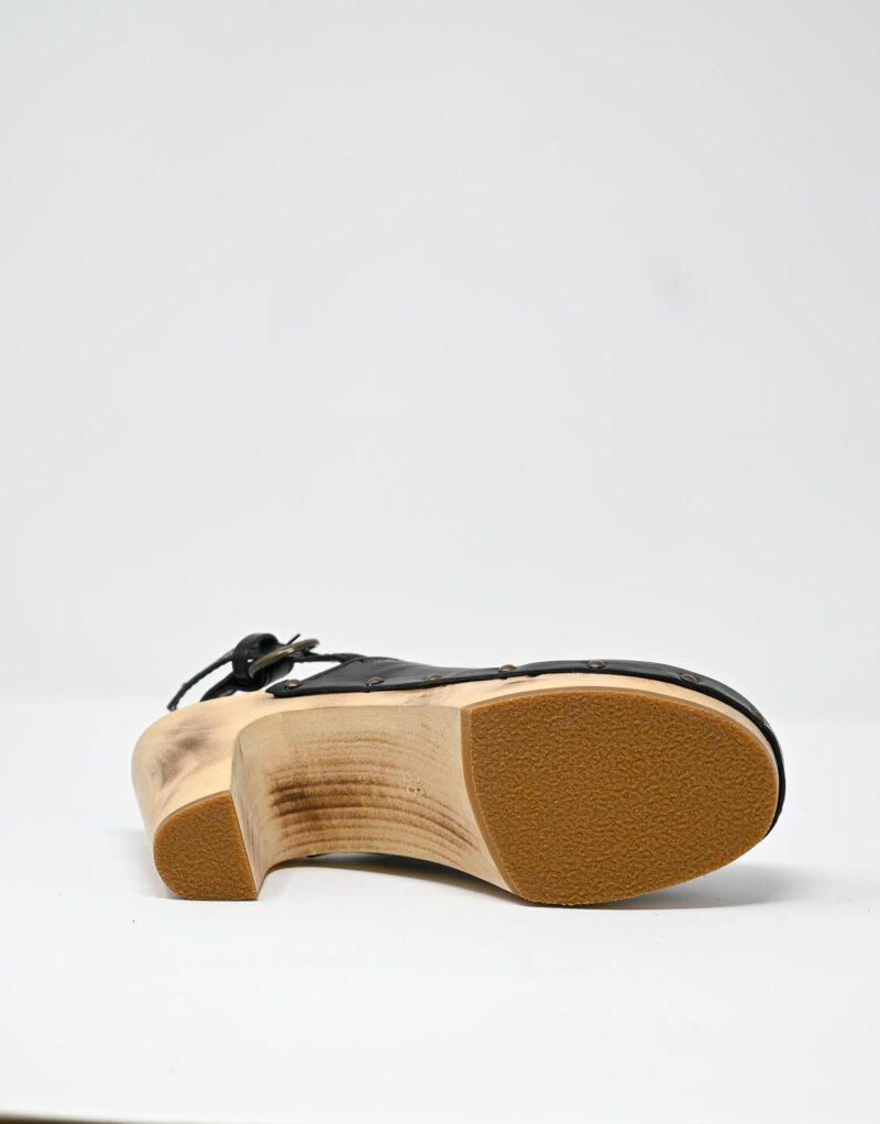 zoccolo in legno e pelle nero by astorflex-4990