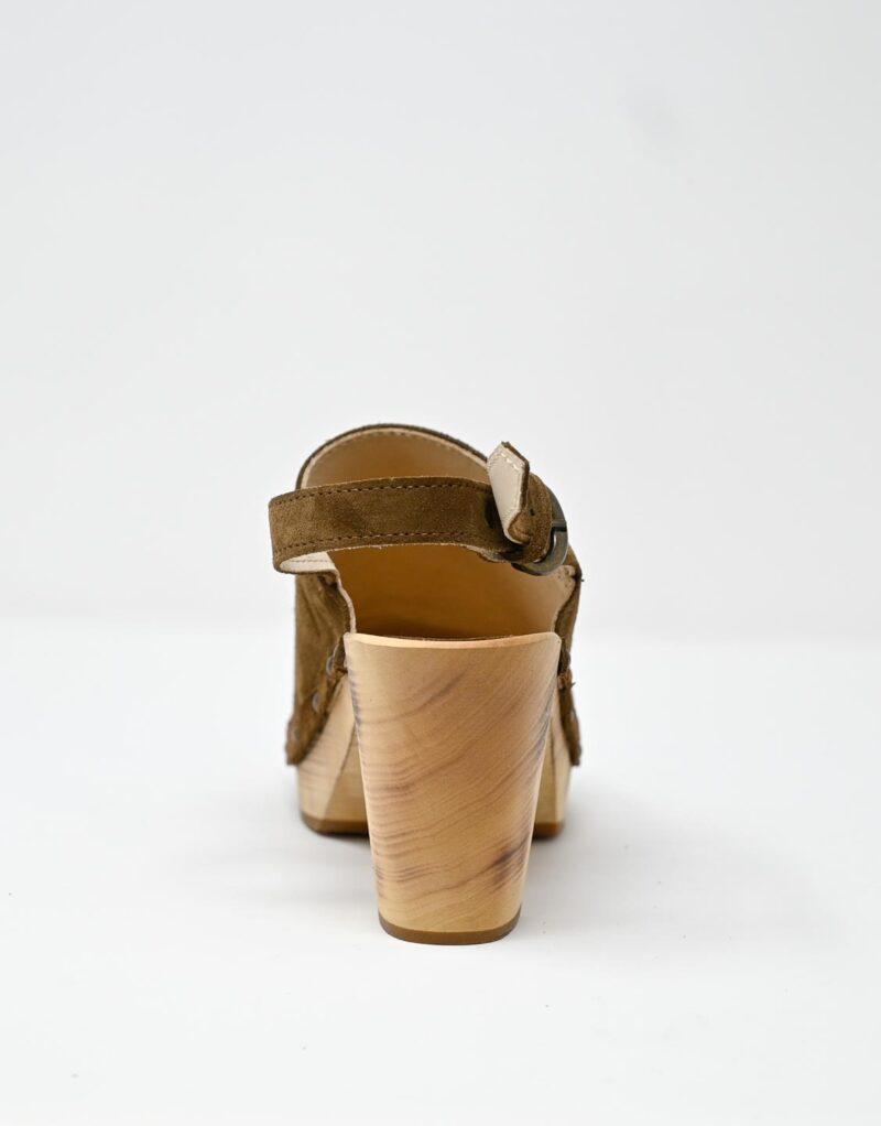zoccolo in legno e pelle scamosciata dark chestnut by astorflex-4984