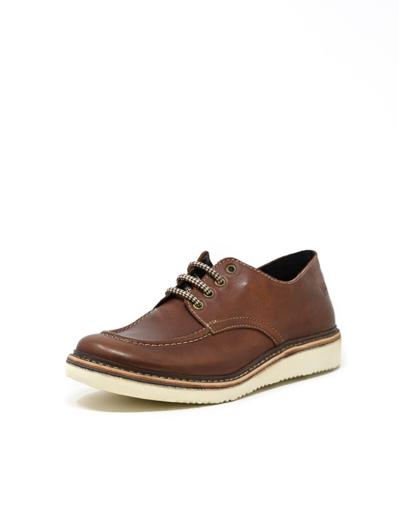 derby in pelle Jalef ruggine-3914