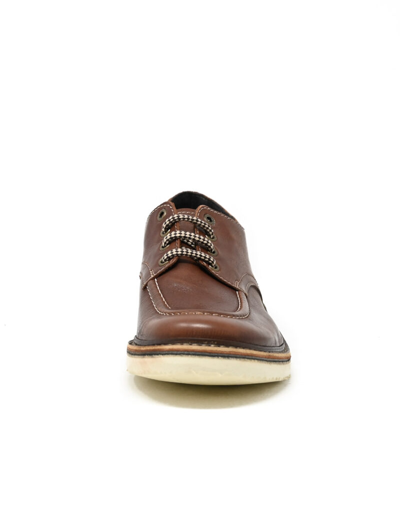 derby in pelle Jalef ruggine-3915