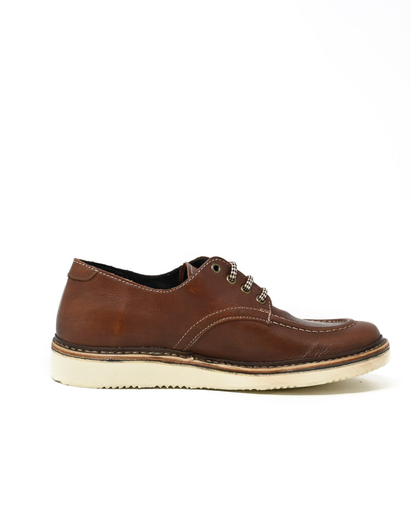 derby in pelle Jalef ruggine-3916