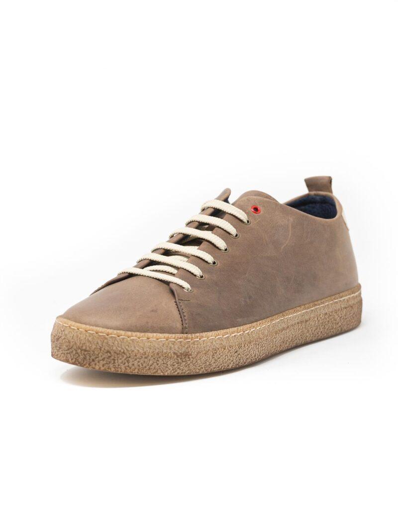 sneaker wally walker pelle Piuma ebano-4133