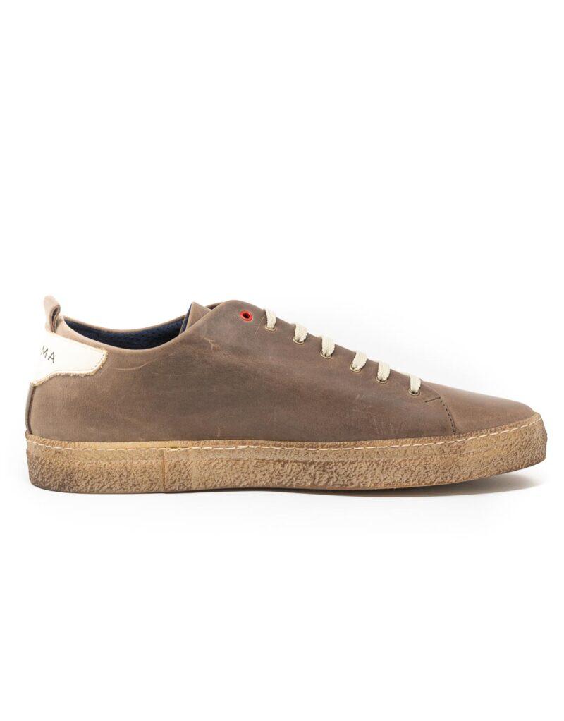 sneaker wally walker pelle Piuma ebano-4135