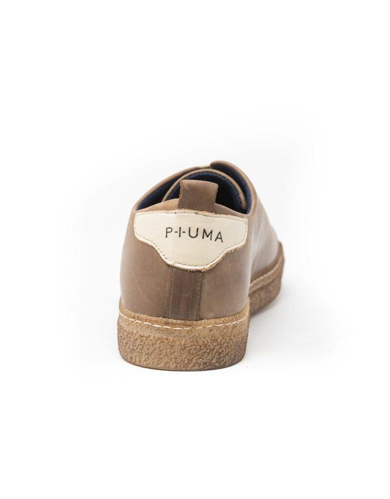 sneaker wally walker pelle Piuma ebano-4136