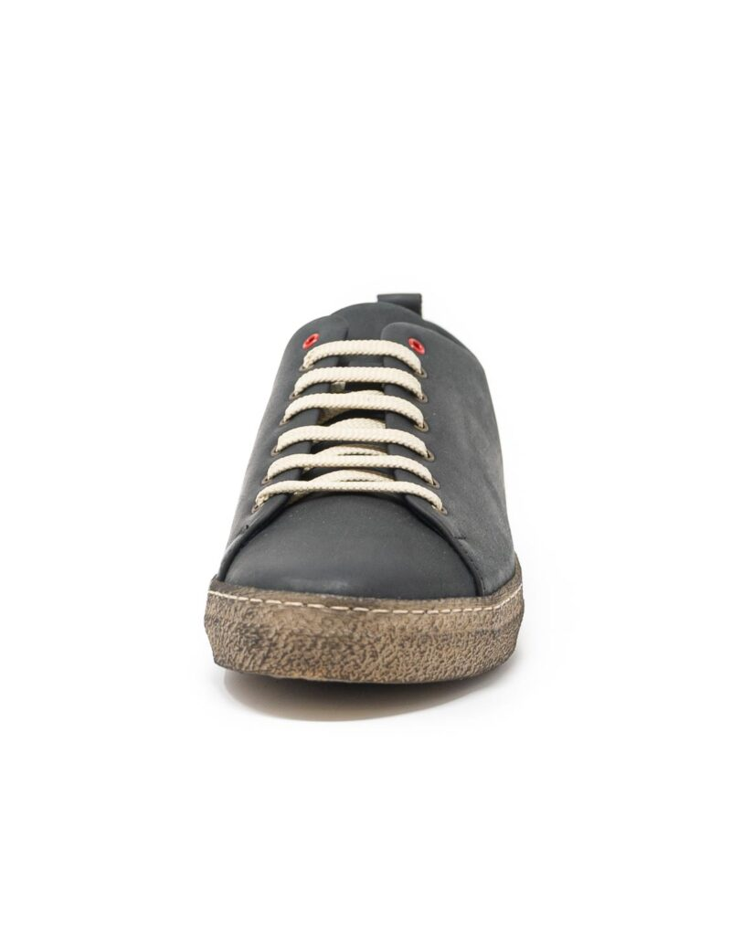 sneaker wally walker pelle Piuma nero-4128