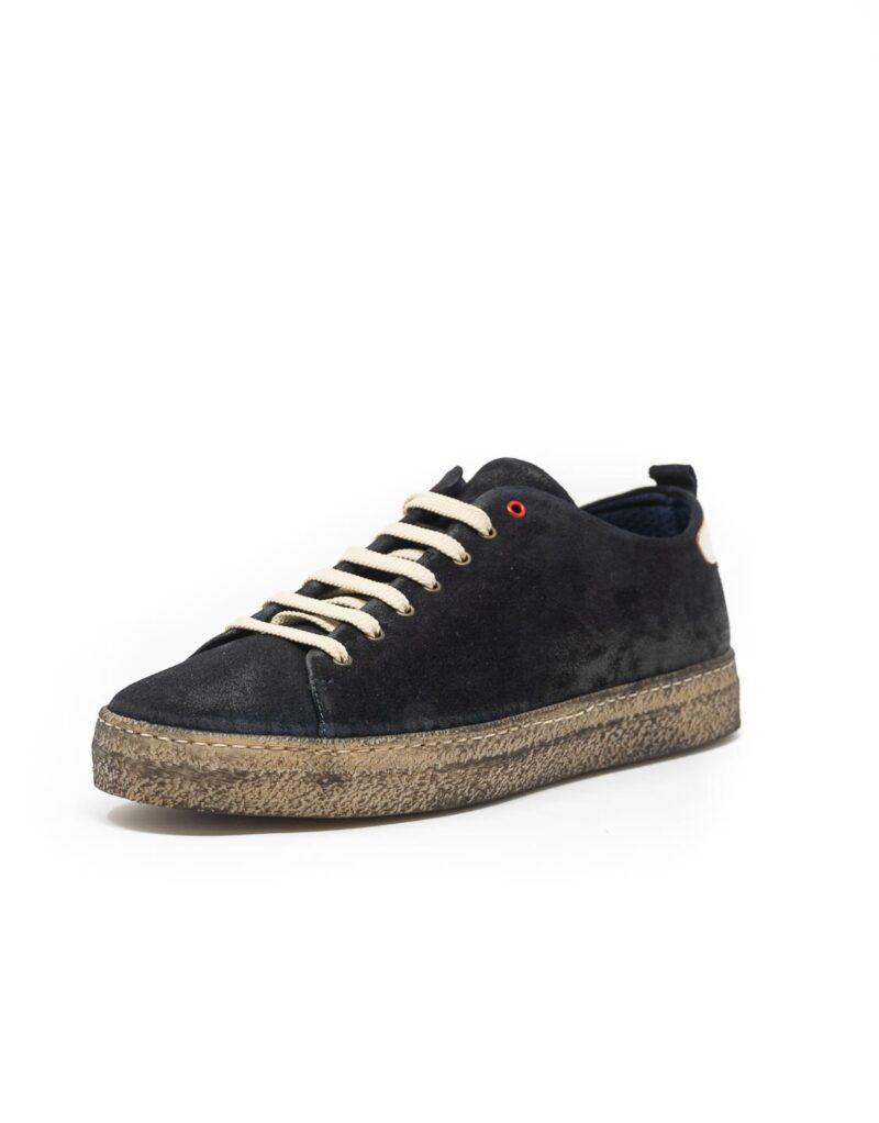 sneaker wally walker scamosciato Piuma nero-4139
