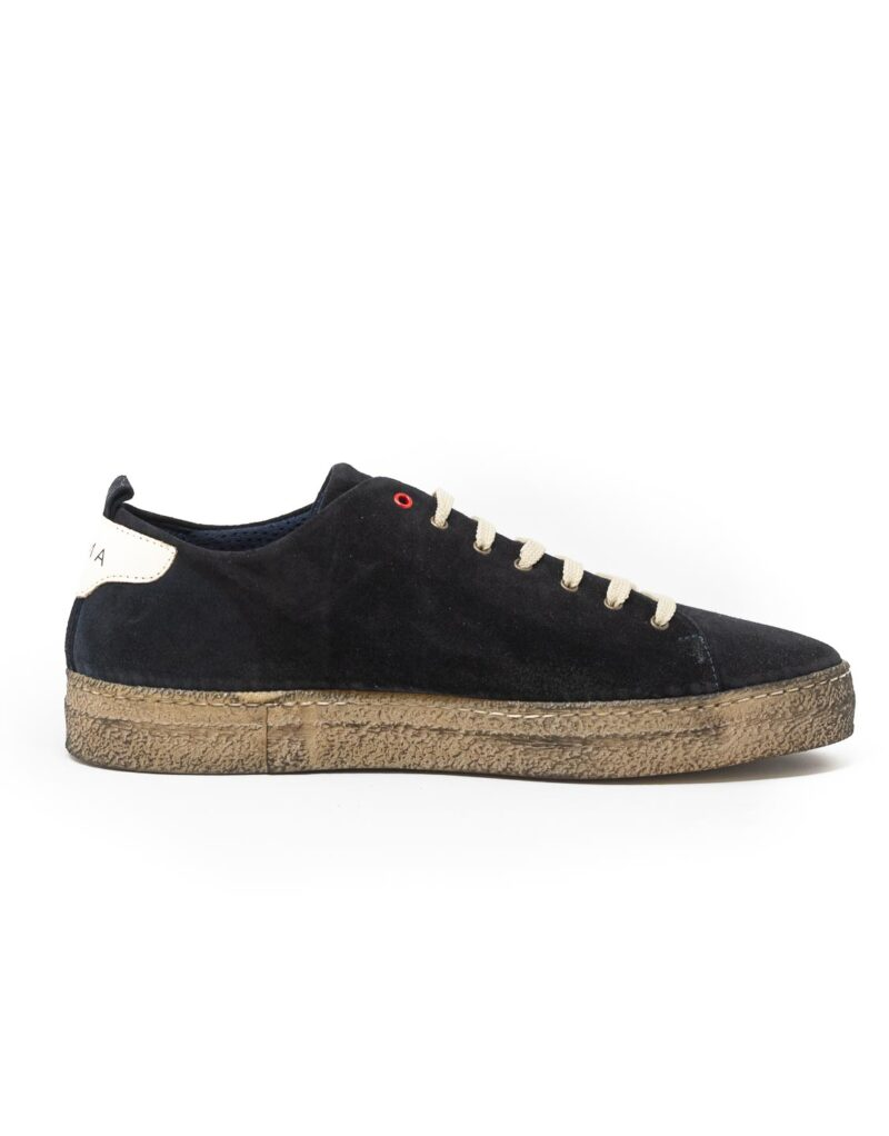sneaker wally walker scamosciato Piuma nero-4141