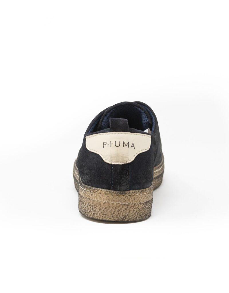 sneaker wally walker scamosciato Piuma nero-4142