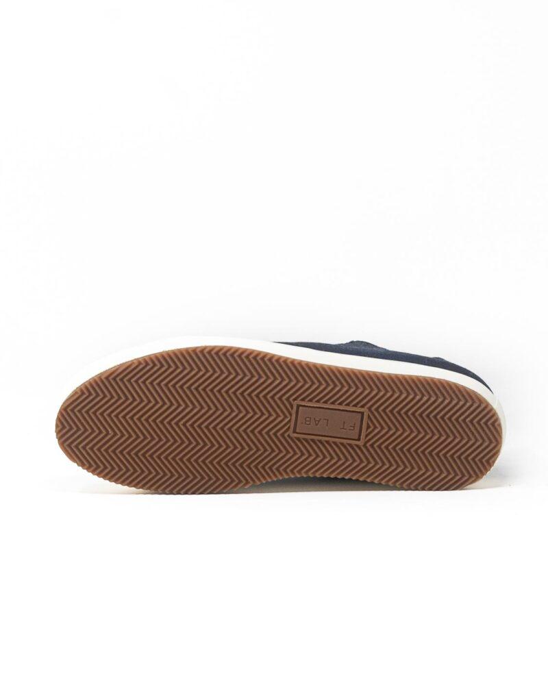 FT Lab – sneaker scamosciata con fodera in montone anallergico blu-6804