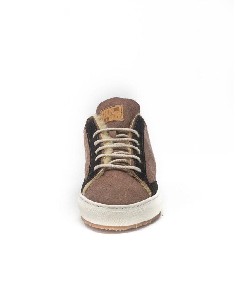 FT Lab – sneaker scamosciata con fodera in montone anallergico safari-6789