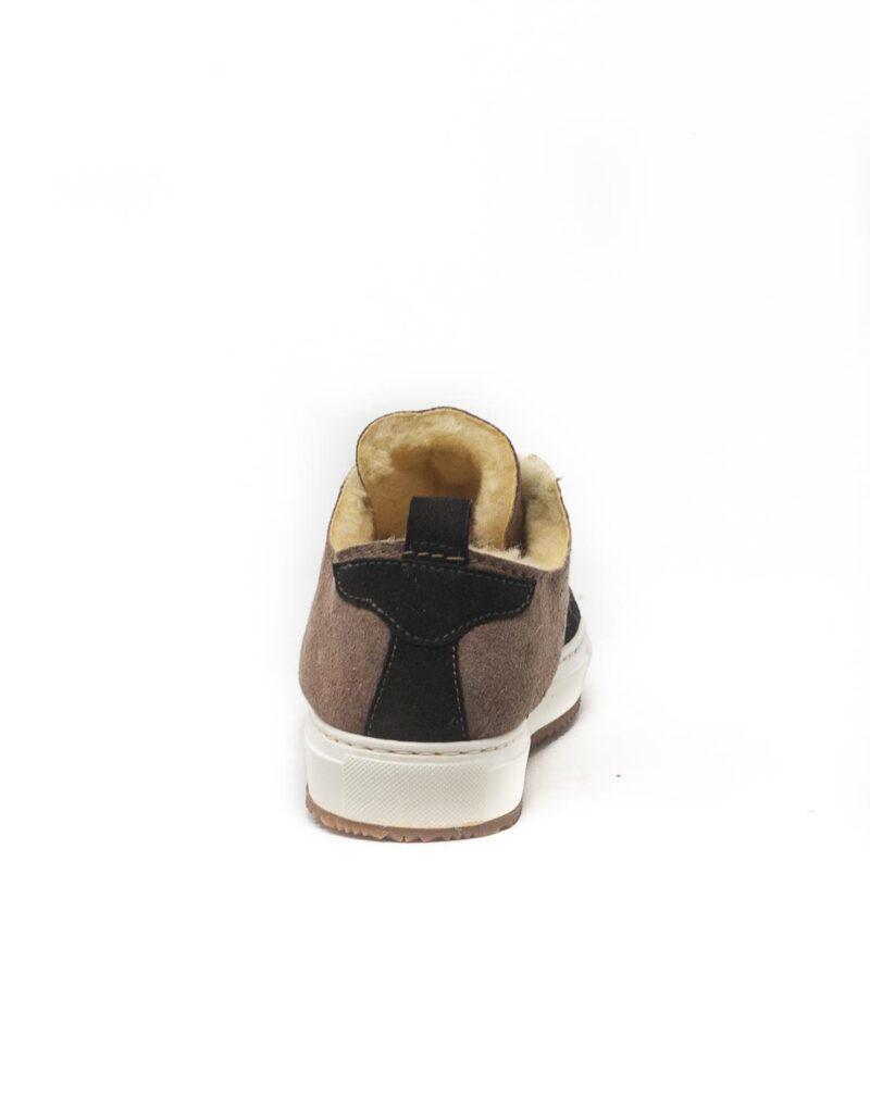 FT Lab – sneaker scamosciata con fodera in montone anallergico safari-6791