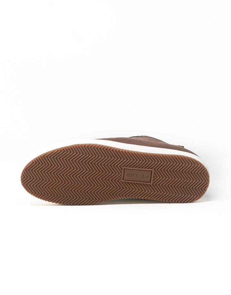 FT Lab – sneaker scamosciata con fodera in montone anallergico safari-6792
